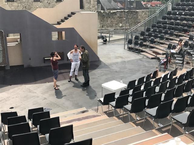 Theaterprojekt Minna Von Barnhelm Sommerspiele Perchtoldsdorf